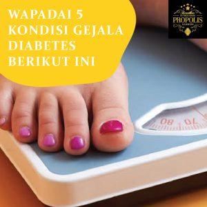 Kondisi gejala diabetes